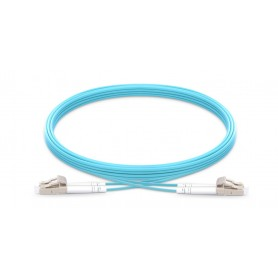 Fiber Patch Cable OM3-LC-LC-DX-10M-LSZH