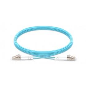 Fiber Patch Cable OM4-LC-LC-DX-1M-LSZH